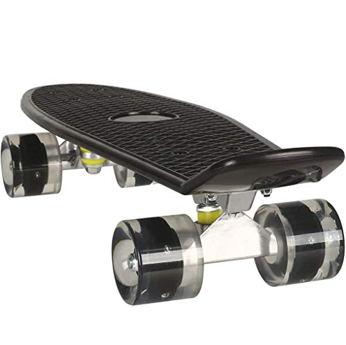 ZEH Füllen Sie Skateboarddecks Ahorn-Holz Longboards Skateboard for Erwachsene Anfänger Mädchen Jungen FACAI