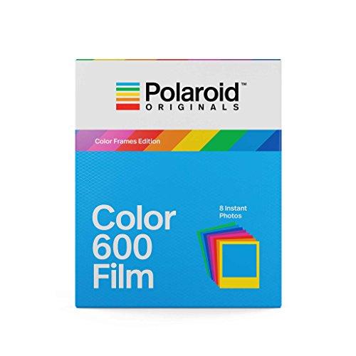 Película Polaroid Originals 600 Color - marcos de colores