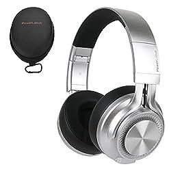 Son stéréo HD & basses profondes –Ce casque Bluetooth est équipé de pilotes audio 40 mm offrant des basses profondes et des aigues intenses, vous permettant d'écouter vos playlists en immersion totale. Notre casque est rembourré d'une mousse blanche ...