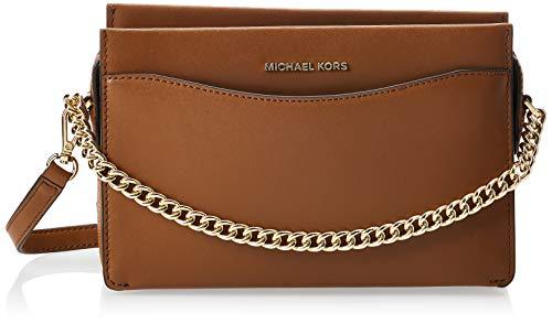 Michael Kors Jet Set, Bolsa de Noche para Mujer, Luggage, Large