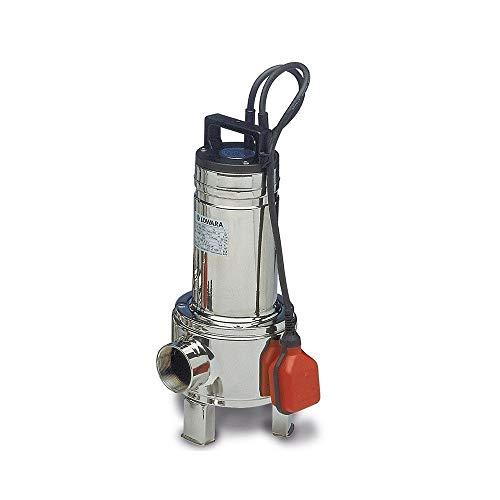 LOWARA DOMO Sommergibili per acque cariche TRIFASE SENZA GALLEGGIANTE DOMO10VXT - HP 1,0 / 750W - 380V