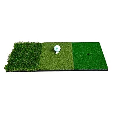 LIOOBO Golf-Übungsmatte Schlagmatte für