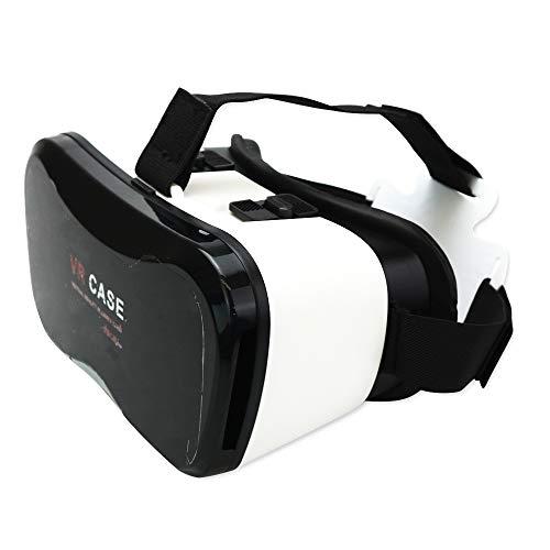 bonba-kid スマホ用 VRヘッドセット ゴーグル 4.7~6.0インチ スマホ対応 3D映像 VR動画 360度