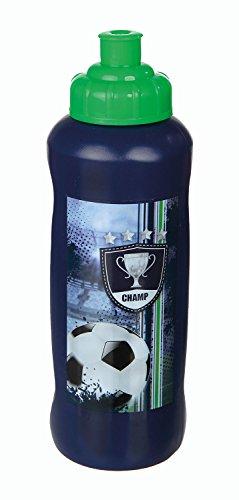 Undercover FCPR9911 - Sportflasche Football Cup, 450 ml, blau