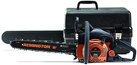 Remington 41AY4218983 RM4218CS 42cc Full Crank 2-Cycle Gas Powered Chainsaw 18-Inch Bar, Automatic Oiler, and Low Kickback Chain, 42cc-18-Inch, Orange