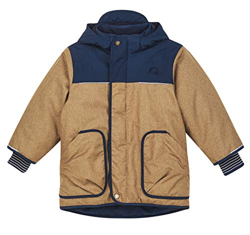 Finkid Tunturi Ice Colorblock-Braun, Isolationsjacke, Größe 110-120 - Farbe Cinnamon - Navy