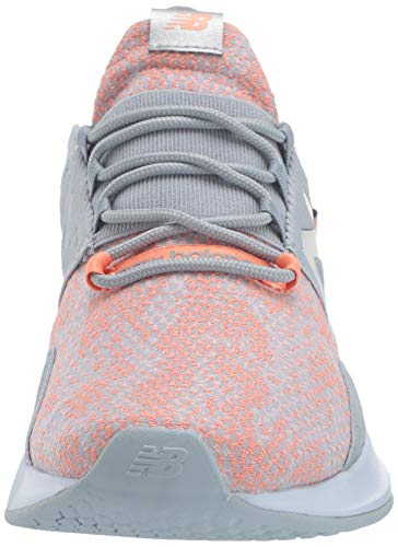New Balance Women's Fresh Foam Roav V1 Sneaker, LIGHT SLATE/NATURAL PEACH, 8.5 M US 4