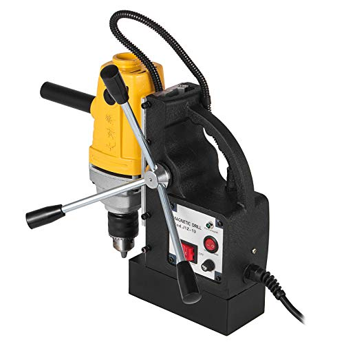 Mophorn Magnetic Drill 750W Magnetic Drill Press with 1/2 Inch Boring Diameter Annular Cutter Machine 1910 LBS