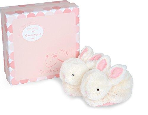 Doudou et Compagnie, DC1308, snoepgoed, haasje-huisschoenen, roze