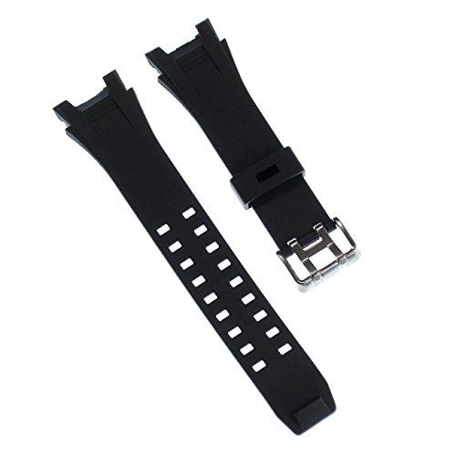 Calypso Correa de reloj deportiva, de caucho, color negro, para relojes Calypso K5619