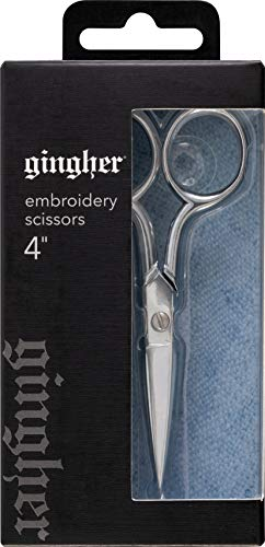 Gingher Inc 4 Inch Silber