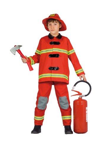 Ciao- Costume per Bambini, Rosso, 6-8 anni, 10870.6-8