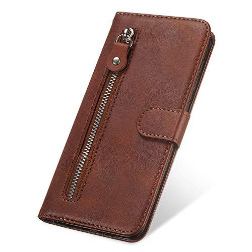 TOPOFU Funda para Xiaomi Mi 11 Lite 5G/4G Funda, [Vintage de Billetera...