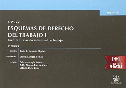 Tomo XII Esquemas de Derecho del Trabajo I Fuentes y Relación Individual de Trabajo 2ª Edición