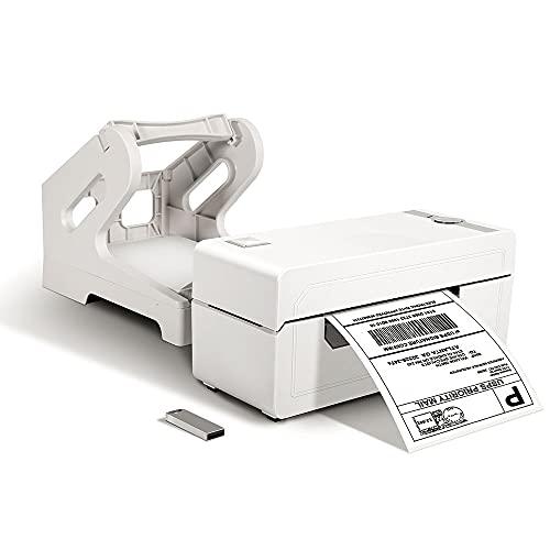 Phomemo PM-246 Pro DHL Etikettendrucker mit Hochgeschwindigkeit, Mit Etikettenhalter, Thermischer 4x6 Versandetiketten Drucker, Barcode Drucker, für Amazon, Ebay, Etsy, Shopify, UPS, FedEx, DHL usw