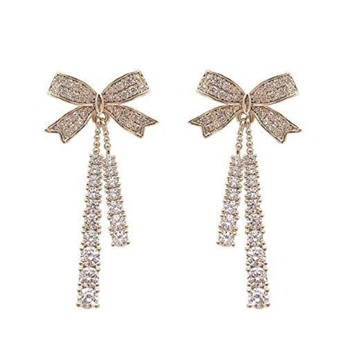 ZGHYBD Butterfly Tassel Pearl Stud Earrings Original Design Symbolizing Luck and Renewal Jewelry for Girl Ladies Women