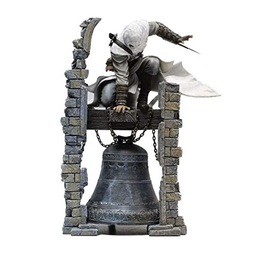 Yanshangqi Assassin 's Creed Figurina: The Legendary Assassino Altair Campanile Originale Figma Action Figure - 11.02 Pollici