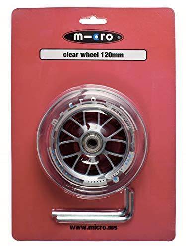 Micro Piece detachee Trottinette Roue Transparente 120mm Sprite