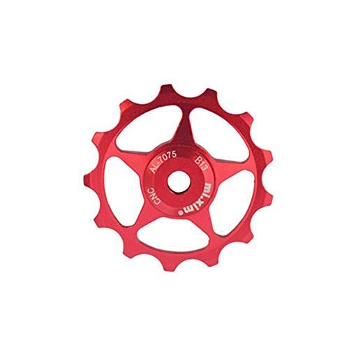 Colinsa Schaltwerk - 13 T Aluminiumlegierung Schaltröllchen Für Fahrrad Schaltwerk Riemenscheibe, Fahrrad Mountainbike