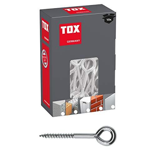 TOX Ösenschraube Safe Fix Eye 8 x 80 mm, Inhalt 10 Stück, 057101041