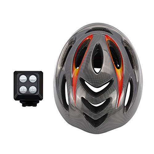 WWJJLL Smart Riding Direction Casque, sans Fil Directeur de réglage du Signal, équitation Équipement Accessoires, Adulte sûr et Confortable Casque d'équitation Convient pour Vélos électriques VTT