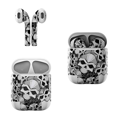 Skin Decals for Apple AirPods - Bones - Sticker Wrap Fits 1st and 2nd Generation