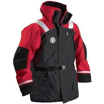 Best Buy! First Watch Ac-1100 Flotation Coat - Red/black - Medium