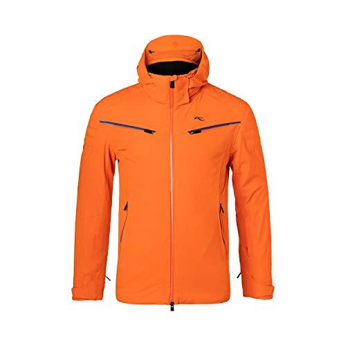 Kjus - Formulaire heren ski-jas (oranje) - S (48)
