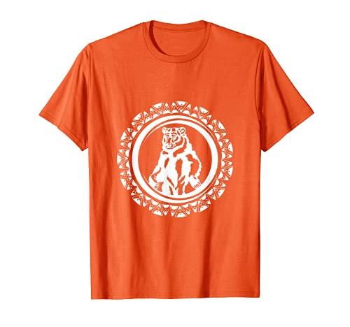 Día de los Nativos Americanos Pueblos y Culturas Indígenas Oso Camiseta