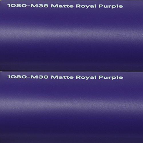 22,37€/m² 3M Autofolie Scotchprint Wrap Film 1080 Matte Royal Purple gegossene Matt Profi Folie 152cm breit BLASENFREI mit Luftkanäle