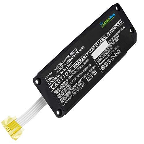 Akku-King Akku kompatibel mit Bose 088772, 088789, 088796 - Li-Ion 3400mAh - für Bose Soundlink Mini 2