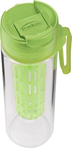Trudeau 04715003 Maison Rejuvenate Water Bottle, 17 oz, Green, Plas