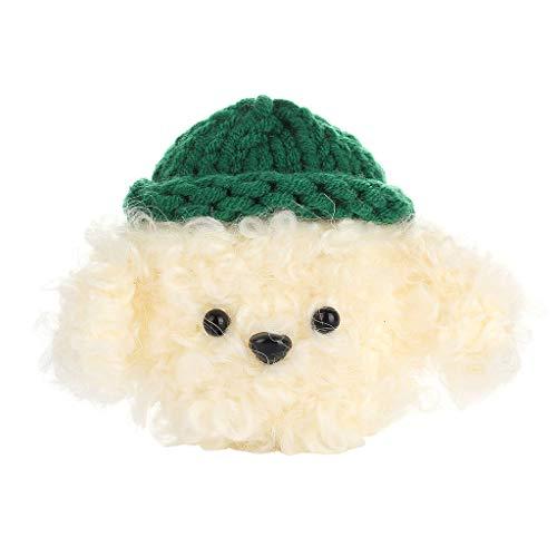 Huyiko - Funda de protección para mascota con forro de goma para AirPods 1/2
