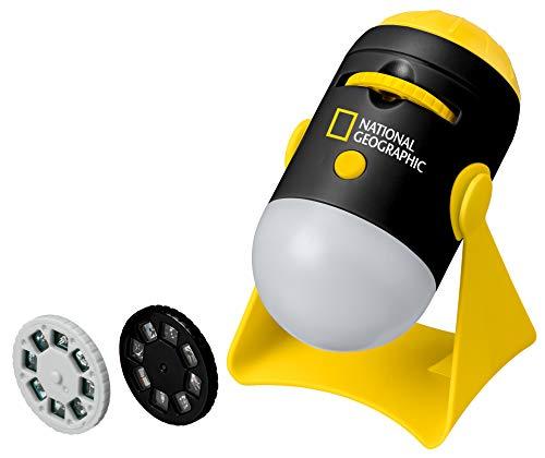 National Geographic 9105600 Mini Projektor zum Projizieren von 24 Bildern zum Thema Astronomie inklusive integriertem Nachtlicht