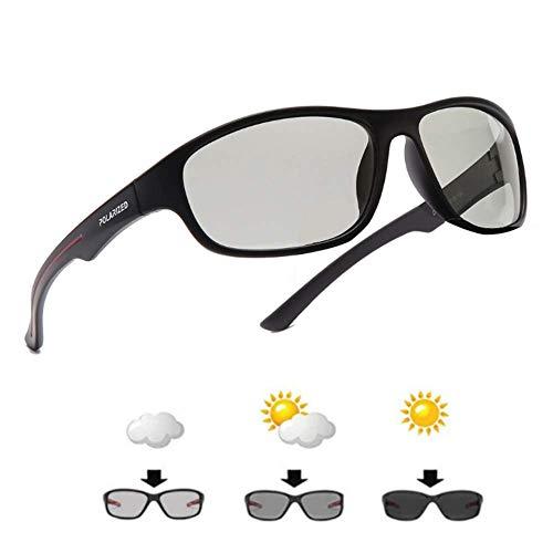 Sportbrille für Herren und Damen Selbsttönende. Triathlon, Radfahren und MTB für Mittlere Köpfe