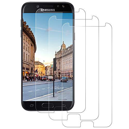 DASFOND Protector de Pantalla para Samsung Galaxy J5 2017, Cristal Templado para...