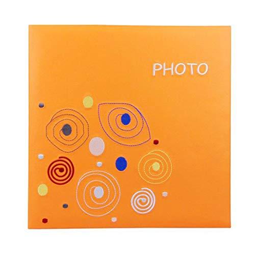 RCIN Einfaches Stickalbum, Fotoalbum, Fotoalbum, 600 Fotos - Panorama 6 '' 6X4.5 '' Fotos Tourismus Liebe