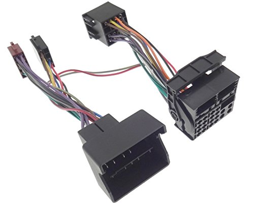 Parrot THB - Adaptador Quadlock Bluetooth Radio ISO Cable FSE Apto para BMW