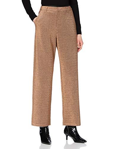 Scotch & Soda Maison Damen Lurex-Hose mit weitem Bein und Stretchanteil Pants, Combo Z 0605, L