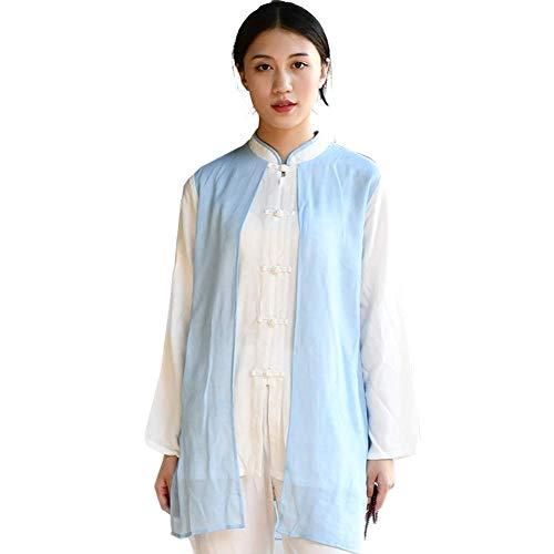 Susichou Tai Chi Kleidung, Baumwoll- und Leinenanzug, chinesischer Stil, Trainingskleidung, Kampfsportkleidung, Tang-Anzug, Kung Fu-Shirt