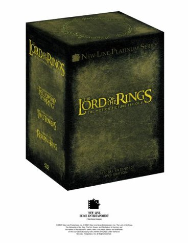 The Lord of the Rings (Trilogy Extended Edition) [UK-Import]