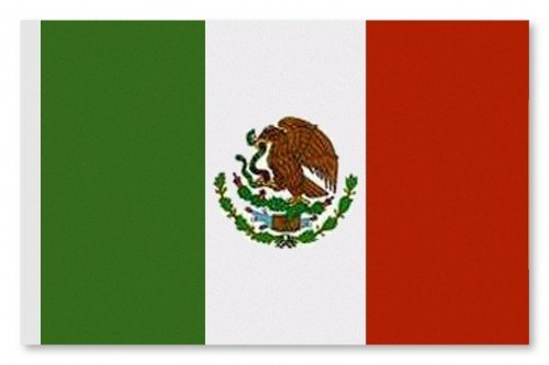 World of Football_Mexico Fahne Mexico