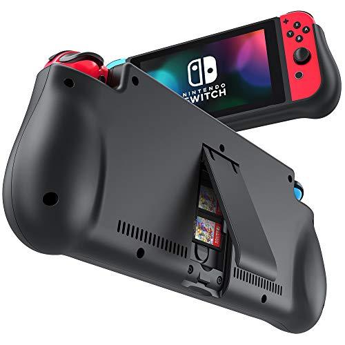NEWDERY 10000mAh Akku Hülle für Nintendo Switch, Ladehülle Akku hülle für Nintendo Switch Schutzhülle Wiederaufladen Leistungsstarke Power Bank Case Cover