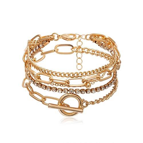 siqiwl bracelet Bohemian Geometric Bangles Charm Adjustable Lasso Set for Women Jewelry Gifts