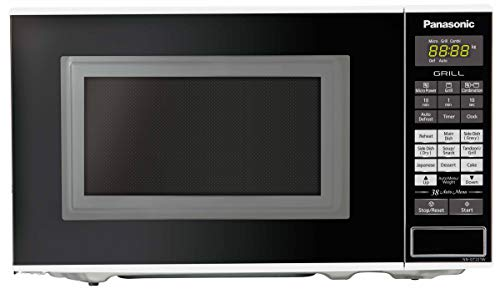 Panasonic 20L Grill Microwave Oven(NN-GT221WFDG,White, 38 Auto Cook Menus ) with Starter...