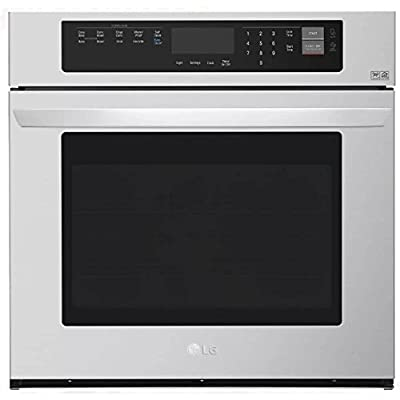 LG LWS3063ST 4.7 Cu. Ft. Stainless Electric Convection Wall Oven LWS3063ST