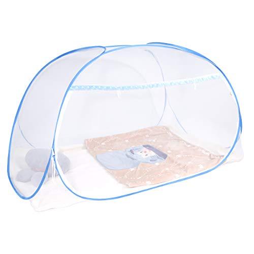 Dewel 蚊帳(かや) 虫除け 蚊よけ 密度が高い 1ドアタイプ 持ち運べる 収納便利 ワンタッチ・折りたたみ式...