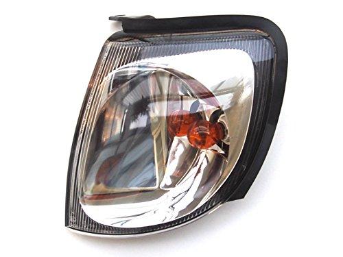 Côté gauche tourner Indicateur de signal d'angle lampe Cadre noir