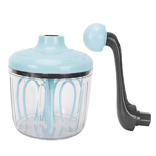01 Sahne-Rührwerkzeug, kein Spritz-Ei-Schläger Milchaufschäumer Handkurbel-Sahne-Schneebesen für Zuhause für die Küche