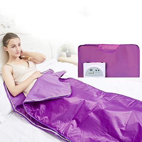 XALO Infrarot-Sauna Decke, 180 * 80 cm Mobile Personal Saunen Für Heim Zweistufige Sweat Dampfsauna Decke Für Weight Loss Körper Shaper Therapeutische Detox